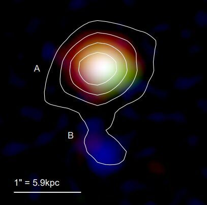 Mambo-9: одна из самых далёких галактик, известных человечеству