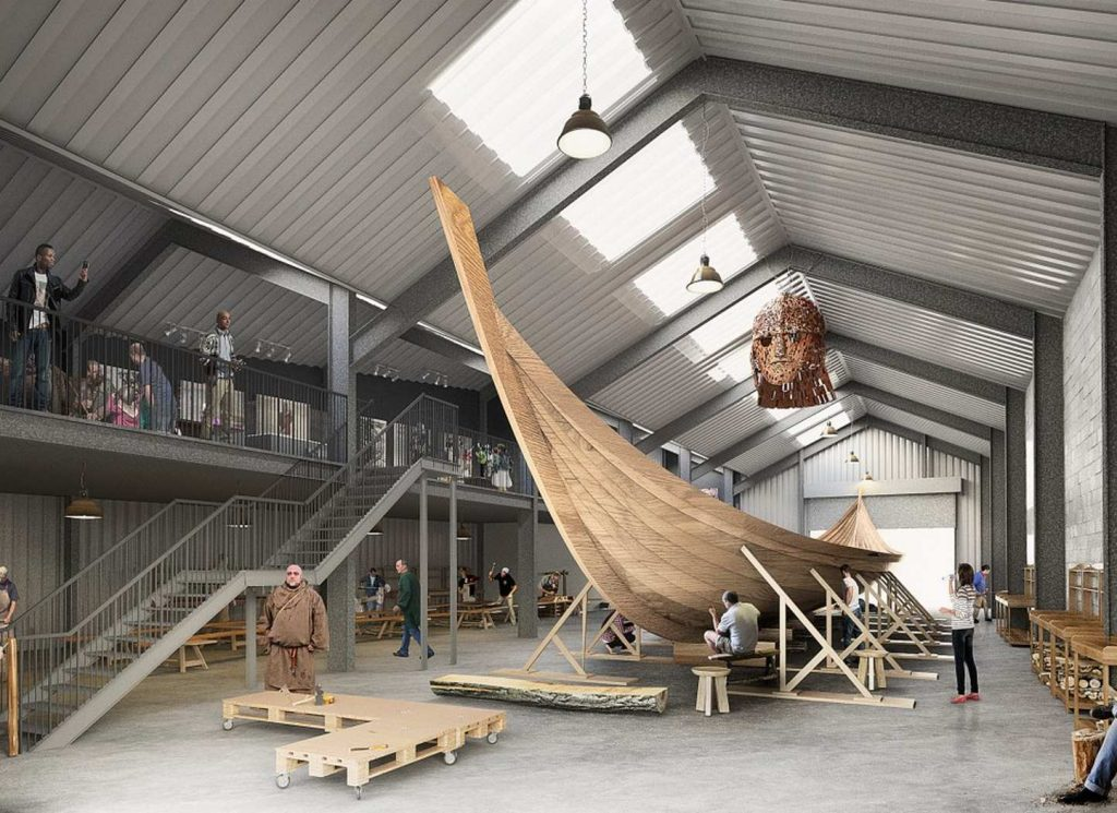«Корабль-призрак»: возрождение древнего англо-саксонского судна