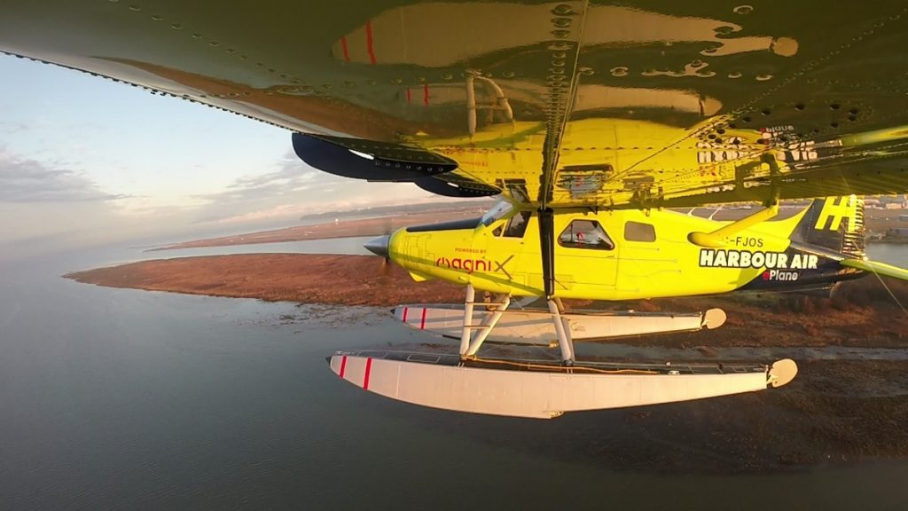 Электрический самолёт DHC-2 Beaver от Harbour Air и MagniX