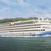 Victoria Sabrina: самый большой речной круизный лайнер в мире