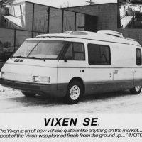 Vixen 21 — уникальный автодом из 80-х