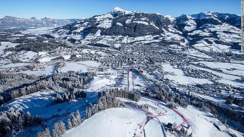 Штрайф – самая зрелищная и сложная горнолыжная трасса