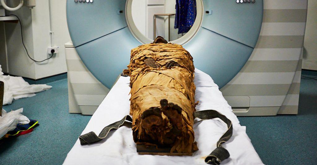 Учёные воссоздали голос 3000-летней мумии