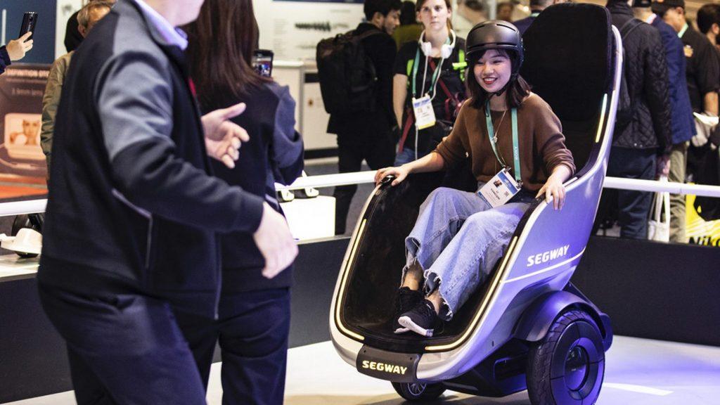 Электрическое мобильное кресло Segway S-Pod