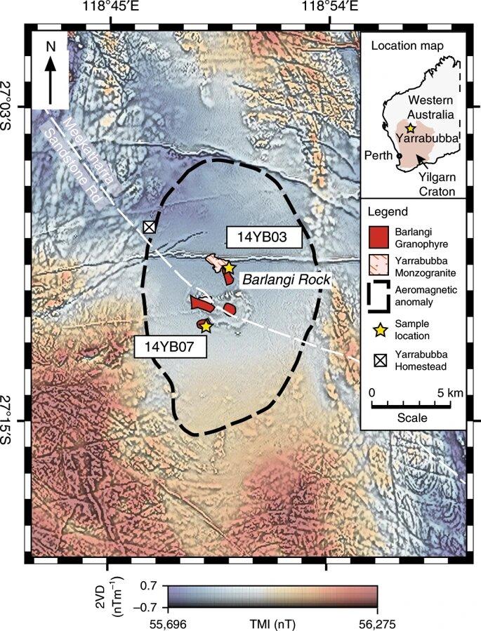 Яррабубба: старейший ударный кратер