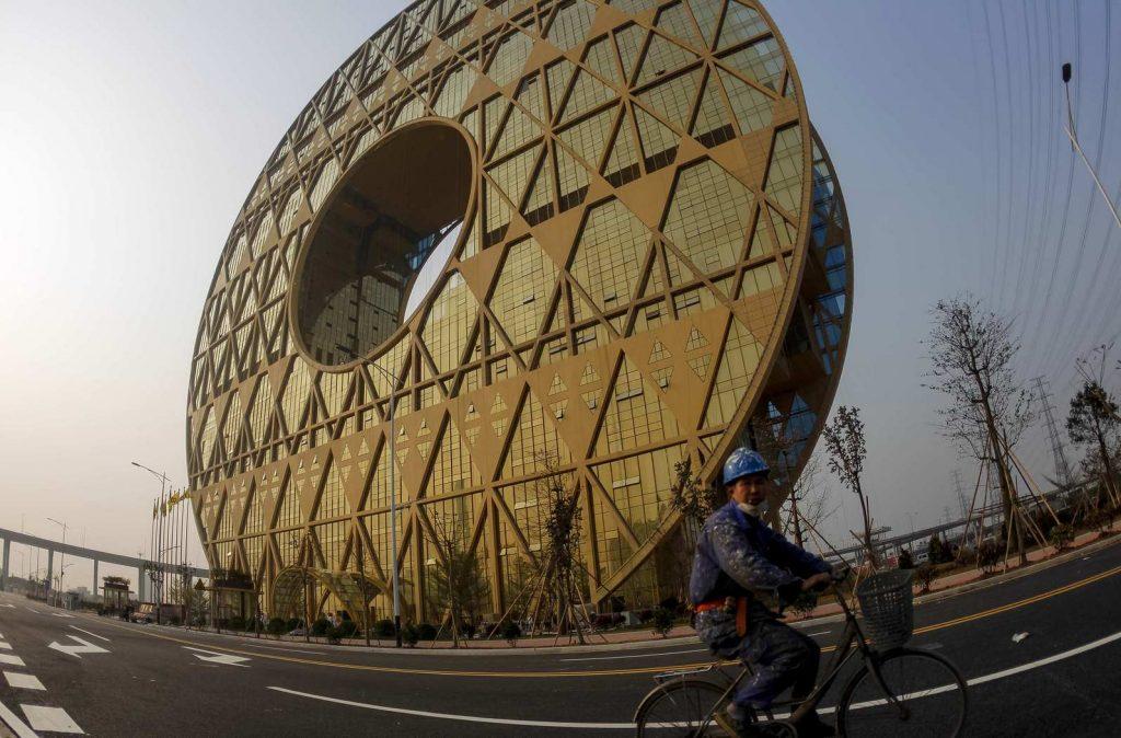 Гуанчжоу-Юань – самое высокое круглое здание в мире