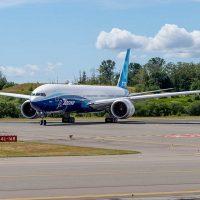 Состоялся первый испытательный полёт Boeing 777X
