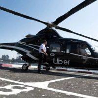 Новый сервис Uber Copter в Нью-Йорке — такси на вертолете.