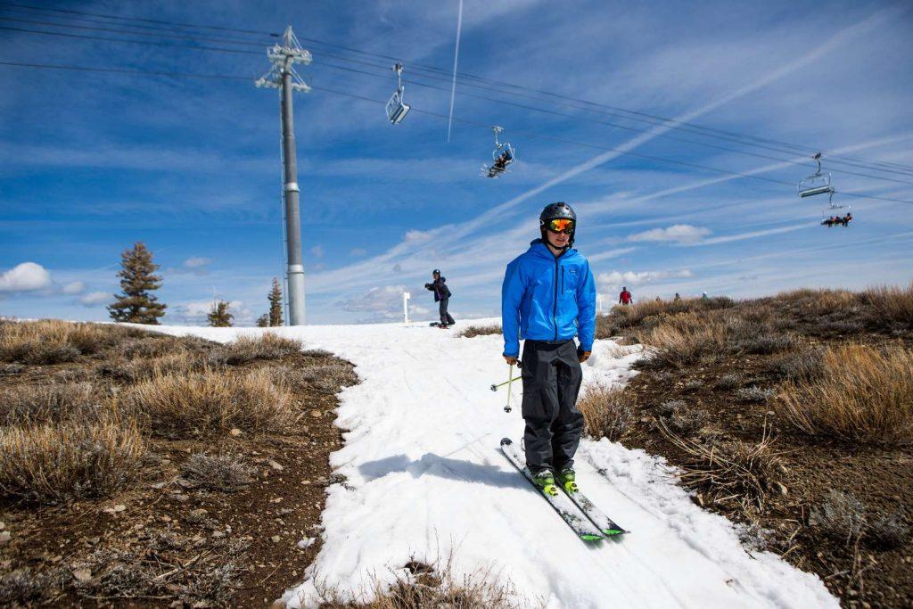 Когда на горнолыжном курорте не хватает снега