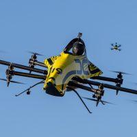 BIG DRONE: первый пилотируемый акробатический дрон