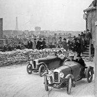 Гонки на многоэтажной парковке в 1927 году