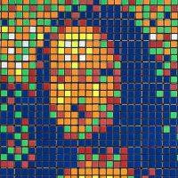 Rubik Mona Lisa: современная интерпретация мировой классики