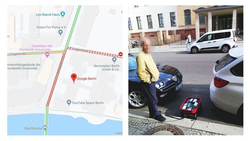 Саймон Векерт и проект Google Maps Hack