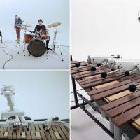 Shimon: четырёхрукий робот-музыкант