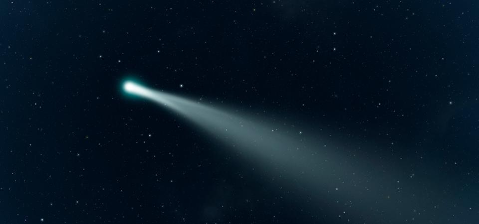 Комета ATLAS: мимо Земли пролет рекордно яркое небесное тело