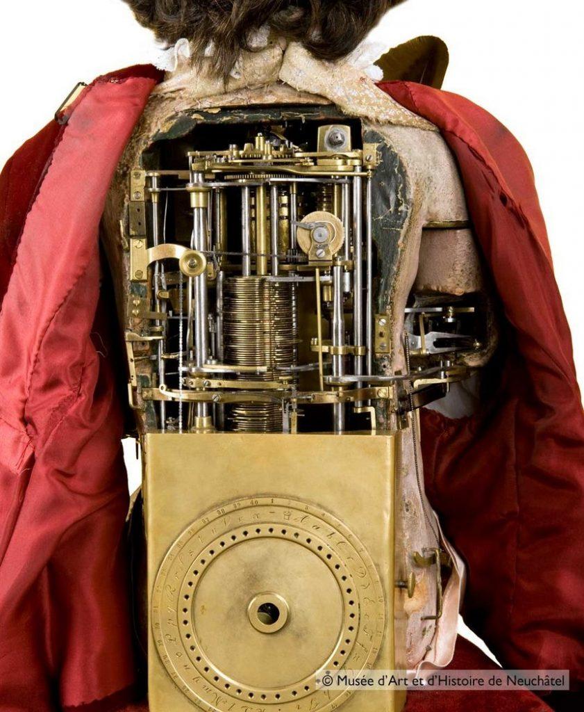 Автоматоны-андроиды семьи Жаке-Дро