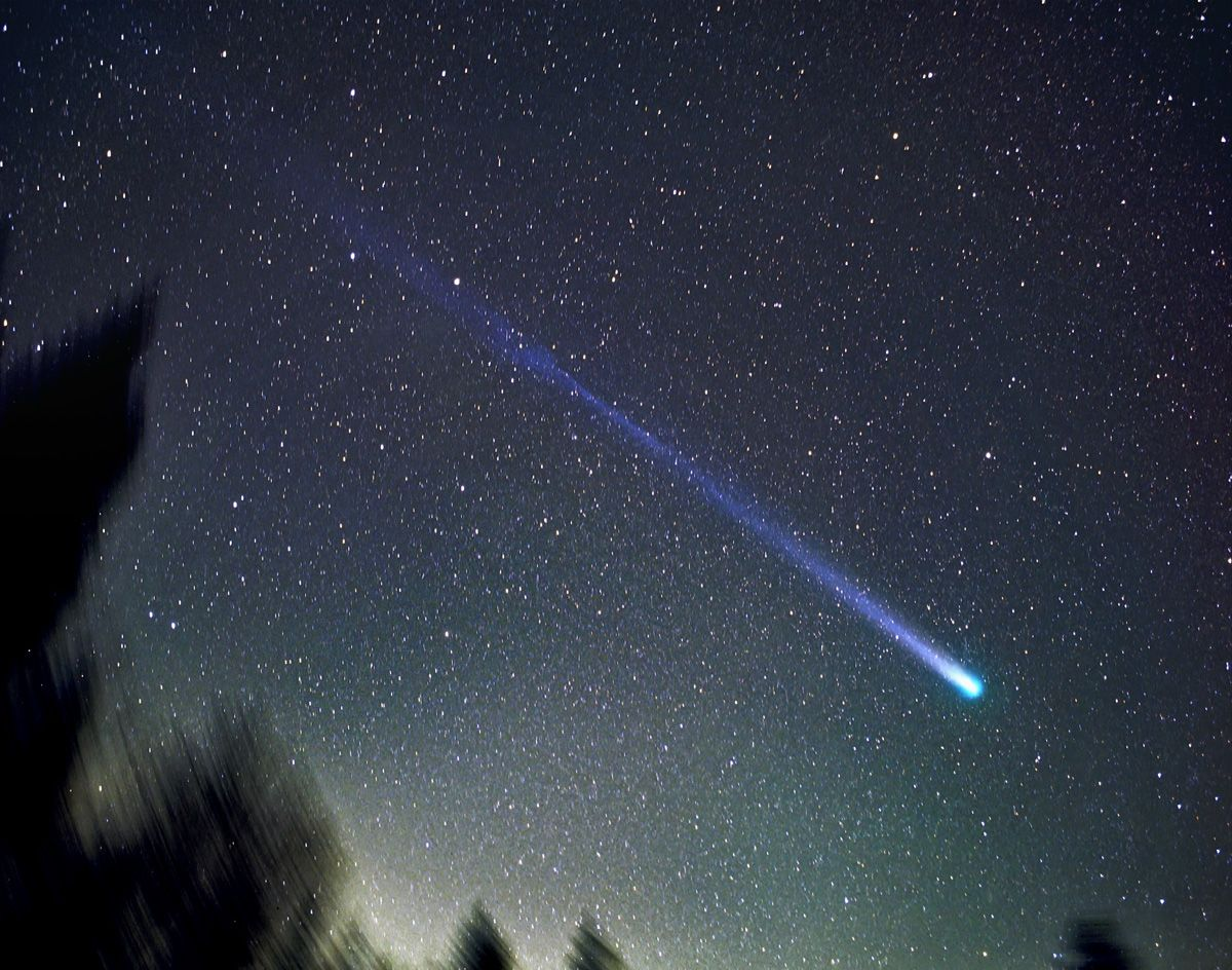 Комета картинки космос