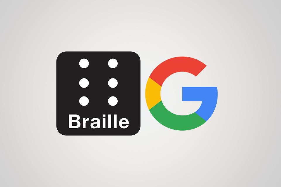 Talkbackклавиатура Брайля от Google