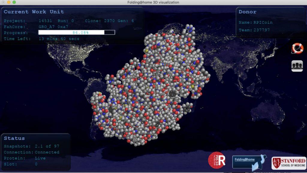 Пользователи Folding@Home случайно создали мощнейший в мире суперкомпьютер