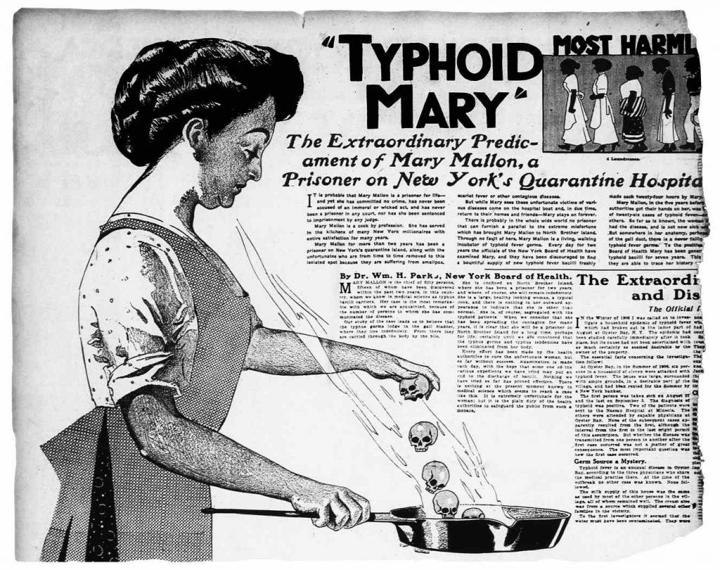 Тифозная Мэри: трагичная история суперраспространителя