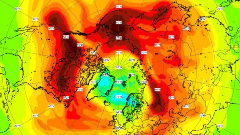 Над Арктикой закрылась крупнейшая в истории озоновая дыра