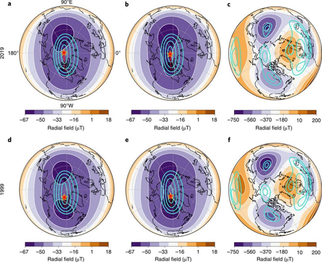 Почему Северный магнитный полюс постоянно смещается?