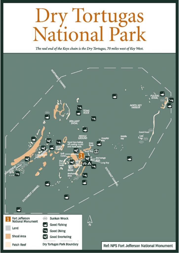 Драй-Тортугас: бурная история национального парка