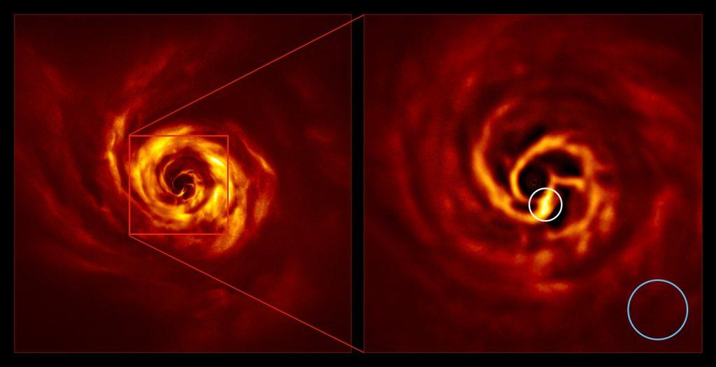 Учёные впервые запечатлели рождение новой планеты