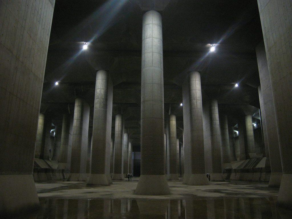Чудо инженерии: токийский противопаводковый коллектор