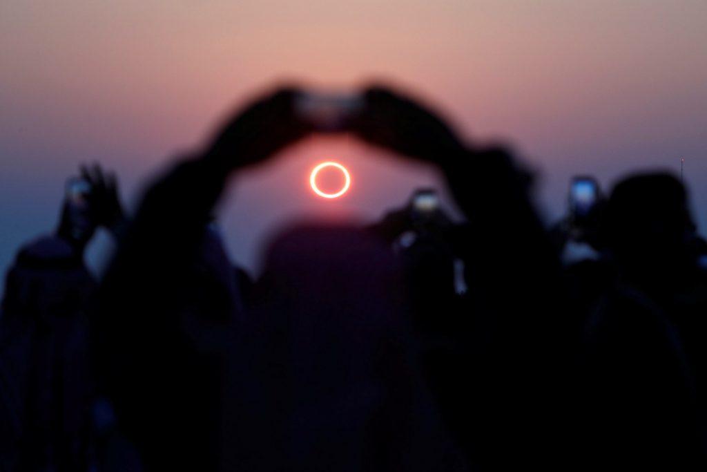 «Кольцо огня»: солнечное затмение 21 июня