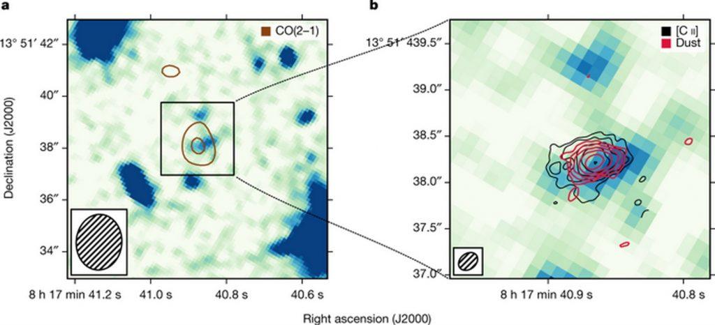 DLA0817g – древнейшая дисковая галактика во Вселенной