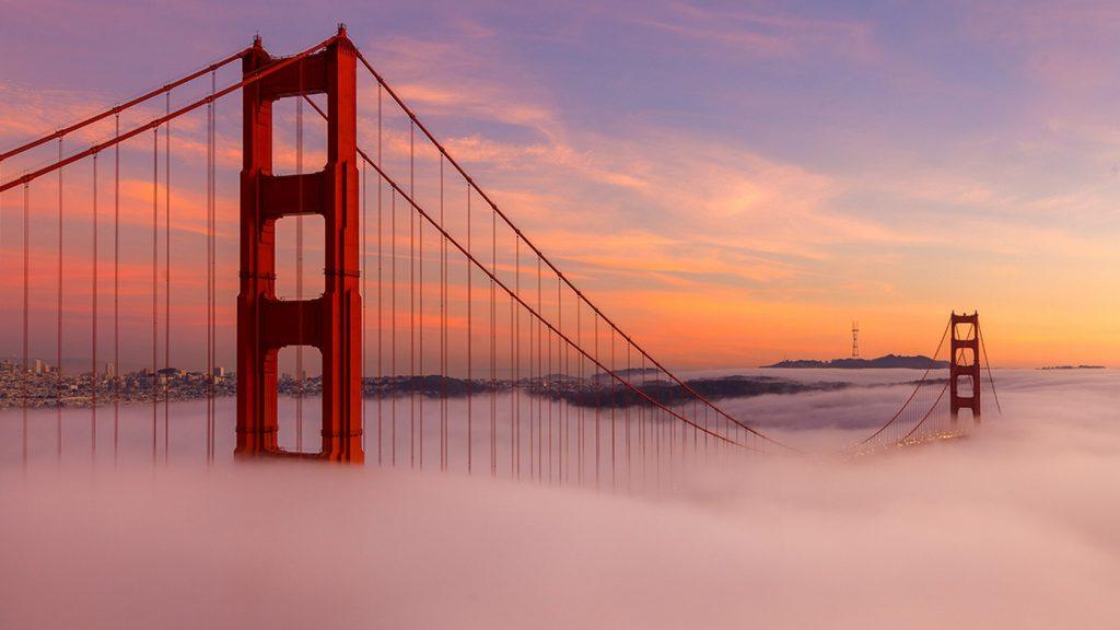 Мост Золотые Ворота превратился в крупнейший в мире духовой музыкальный инструмент