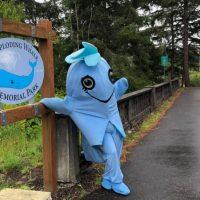 Парк памяти взрывающегося кита 🐋