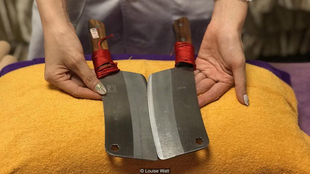 Дао Ляо: древнее искусство массажа ножами
