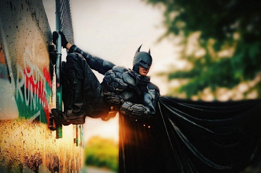 Рекордный костюм Бэтмена от косплеера Кита Динсмора