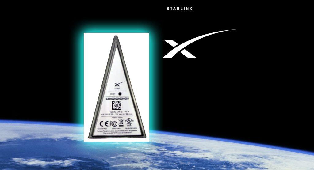 Как будут выглядеть терминалы и роутеры Starlink?