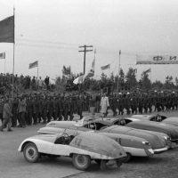 Немного теплых ламповых фото из архивов автогонок СССР 1956 года
