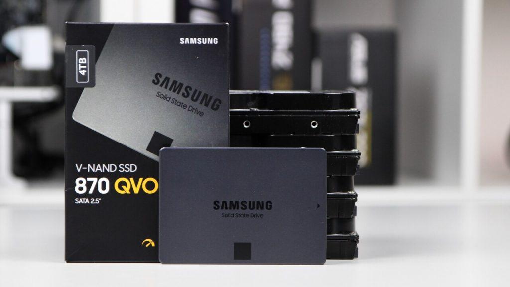 870 QVO: новое поколение SSD накопителей от Samsung