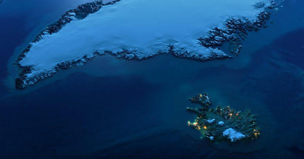Катаракт Датского пролива: самый большой водопад в мире