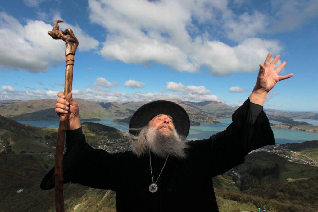 Иэн Ченнел – официальный волшебник города Крайстчерч