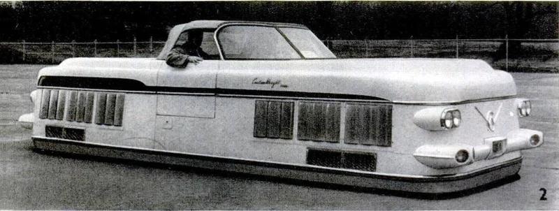 Curtiss-Wright Model 2500 Air Car