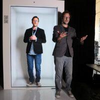 Компания Portl создала первый голопорт — как видеочат, но круче!