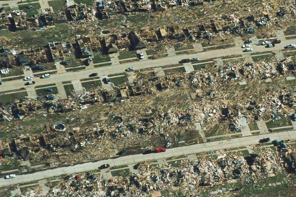Феноменальные природные рекорды мира: торнадо