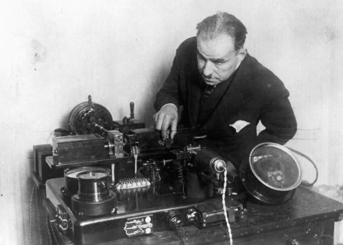 Фототелеграф Корна 1902 год