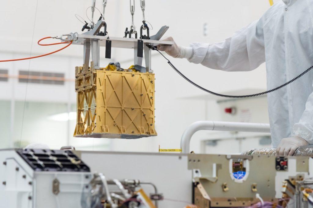 MOXIE: робо-дерево для Марса (Дополнено 22.04.2021)