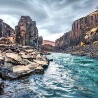 Каньон Студлагил: базальтовая изюминка долины Йокулдалур