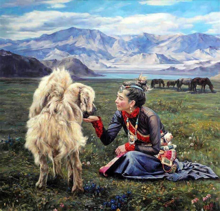 Тибетский мастиф: интересные факты о гималайских До-Куи