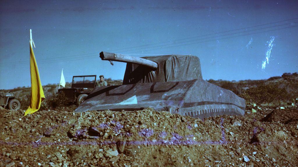 «Призрачная Армия» и её надувные танки во Второй мировой войне