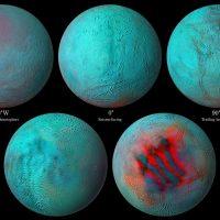 Новый взгляд на спутник Сатурна Энцелад