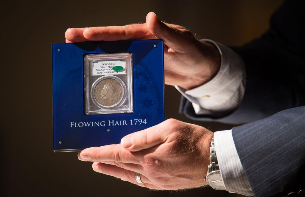 Знаменитый доллар «Flowing Hair» вновь выставлен на продажу